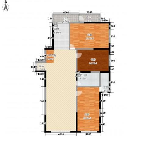 丽水蓝天3室1厅2卫0厨154.97㎡户型图