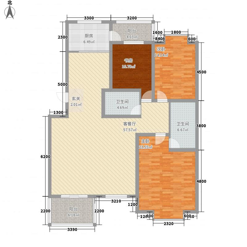 赛罕区政法13.00㎡小区户型3室