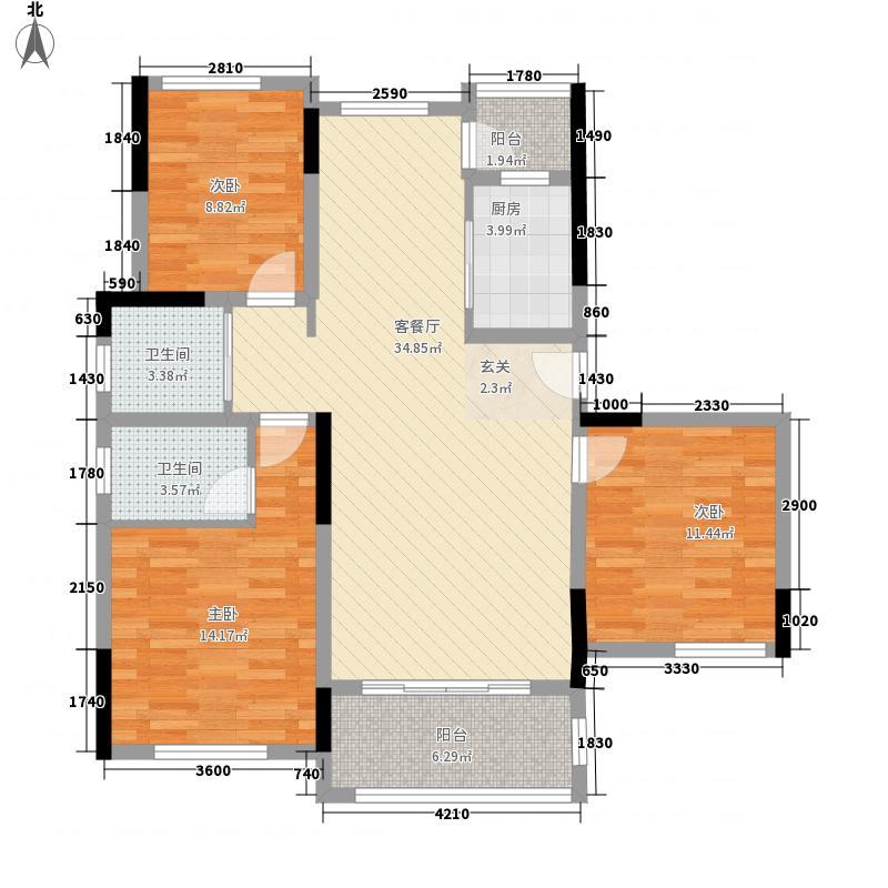 海联・五星公馆127.60㎡1351240574685_000户型3室3厅2卫