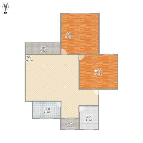 凌霄苑1室1厅1卫1厨201.00㎡户型图