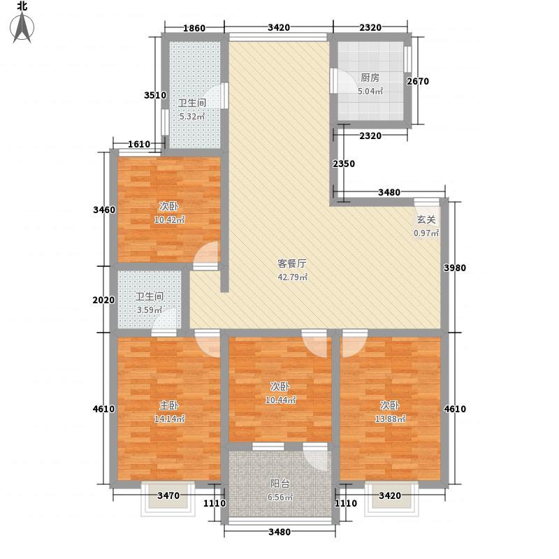 永和家园422.20㎡()户型2厅2卫