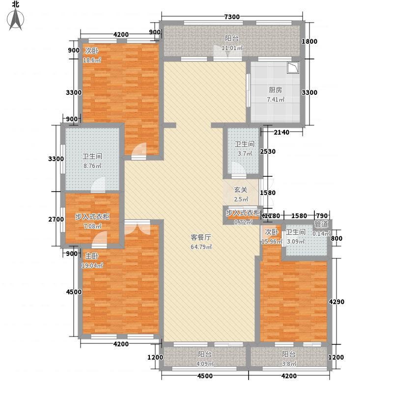 海普佳苑56127.27㎡5、6、9、10#楼东西边套户型3室2厅3卫1厨