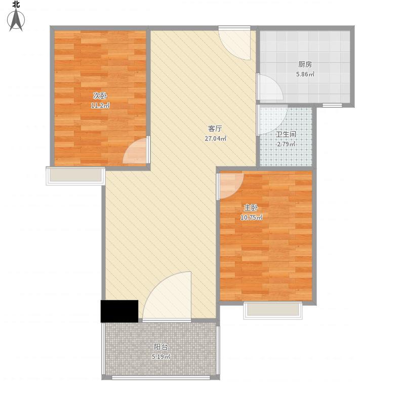 融信澜园b2-2三房两厅两卫