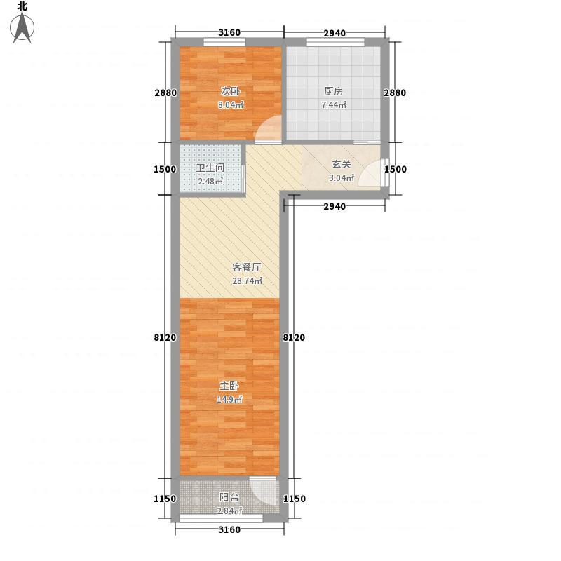 芳群园户型2室