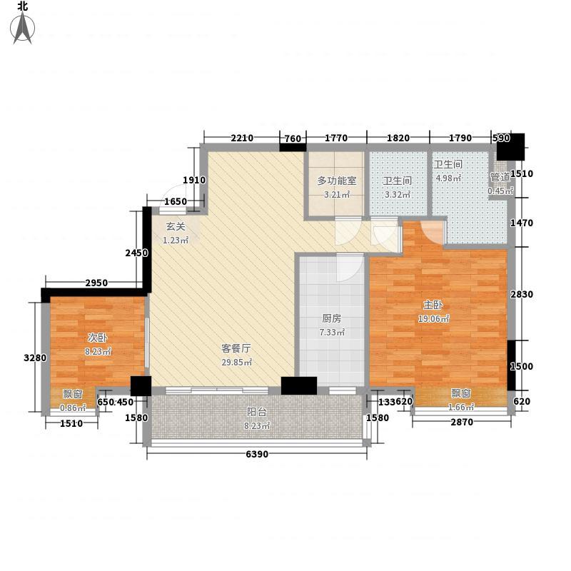 颐和四季公馆109.88㎡颐和四季公馆户型图B1-1户型3室2厅2卫1厨户型3室2厅2卫1厨