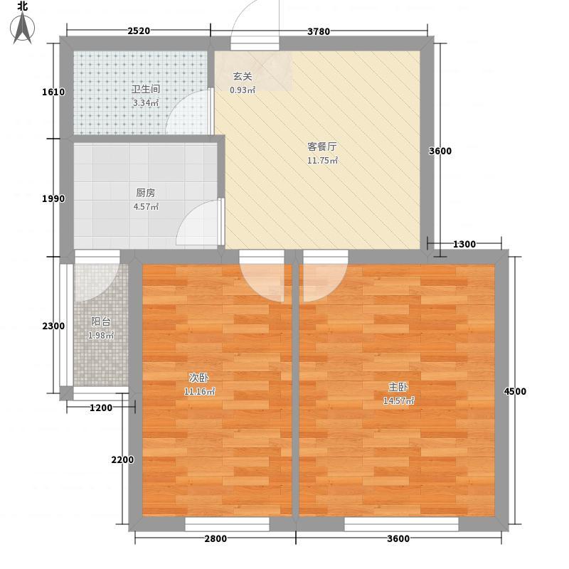 东森总部商务广场8.00㎡户型2室