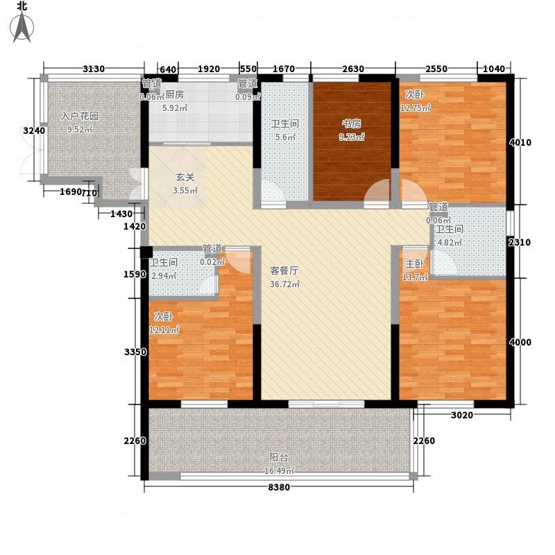泰业国际广场532161.13㎡户型3室2厅2卫1厨