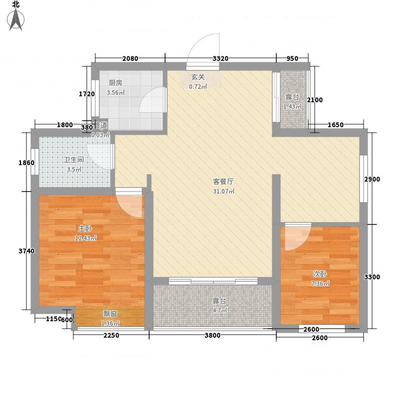 德达金色家园B3复式户型