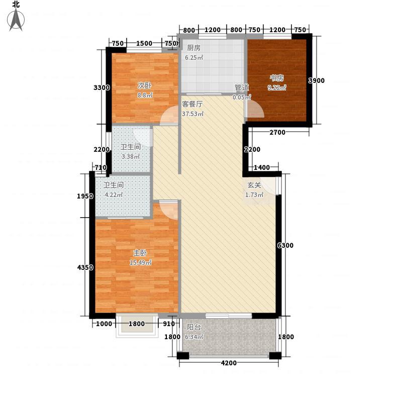 海达・状元府邸123.28㎡海达・状元府邸户型图G53室2厅2卫1厨123.28㎡户型3室2厅2卫1厨