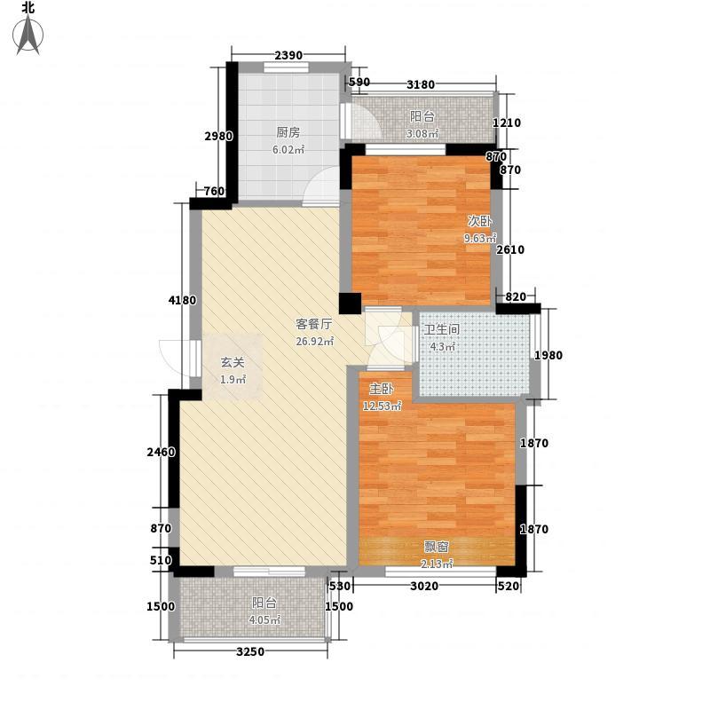 铝厂宿舍6户型