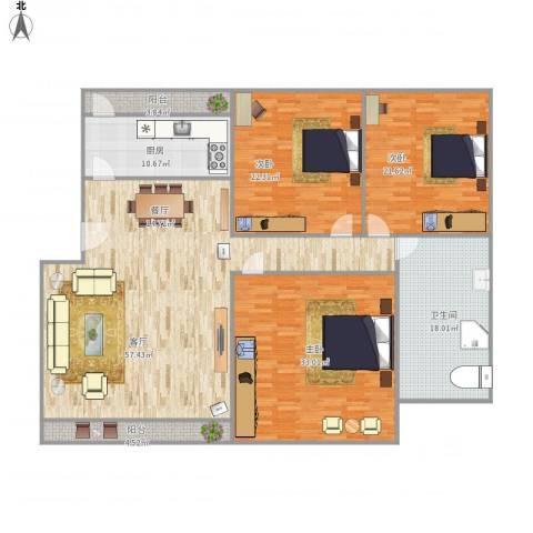 广珠花园41-1-5013室1厅1卫1厨226.00㎡户型图