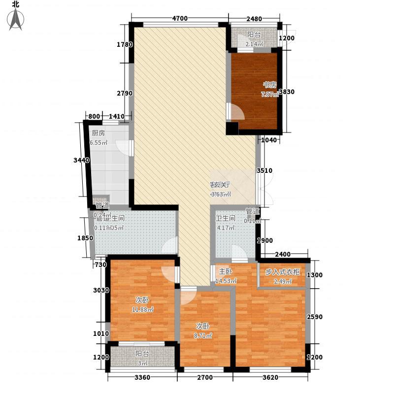 海威国际户型4室