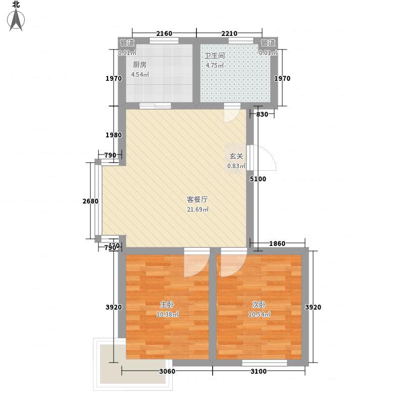 志诚里社区 3室 户型图