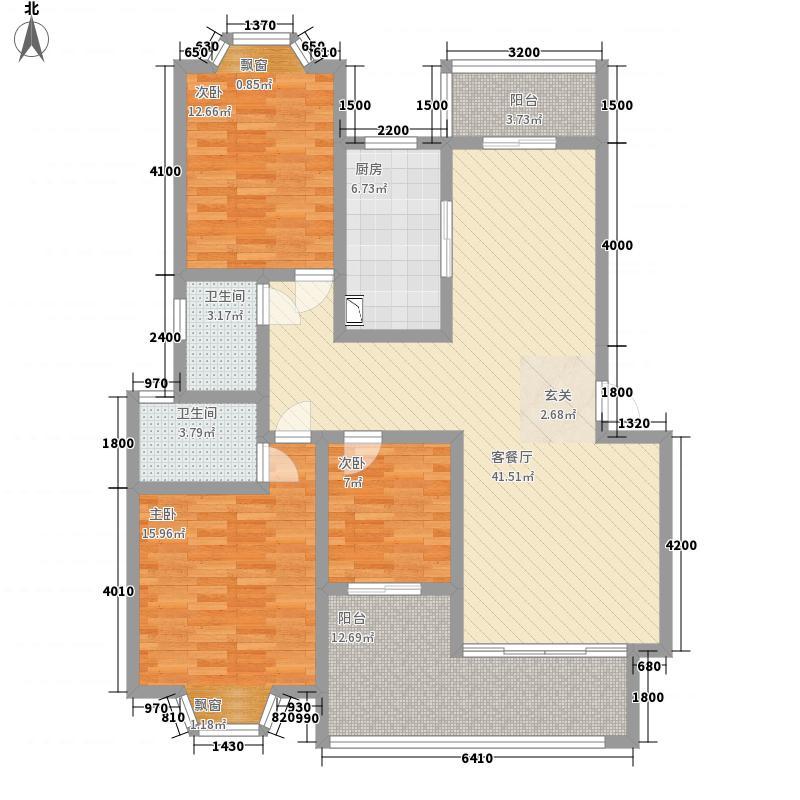 江南水乡15栋多层-3-花园户型
