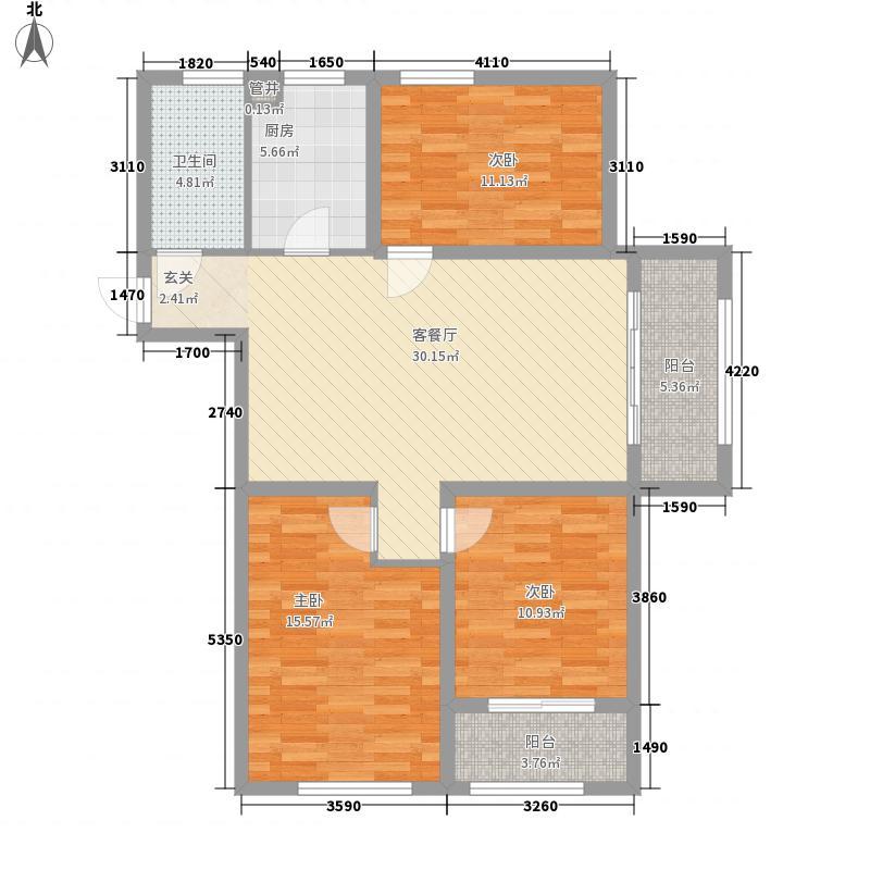 金润城6#10#16#楼D3户型