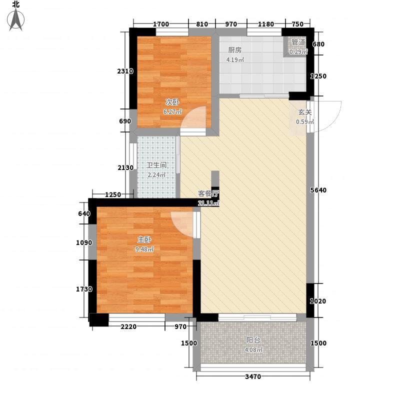 城开国际街区70.00㎡城开国际街区户型图A1户型2室2厅1卫1厨户型2室2厅1卫1厨