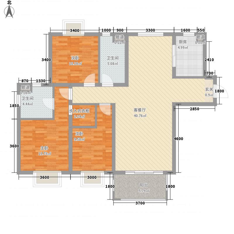 翡翠谷户型3室
