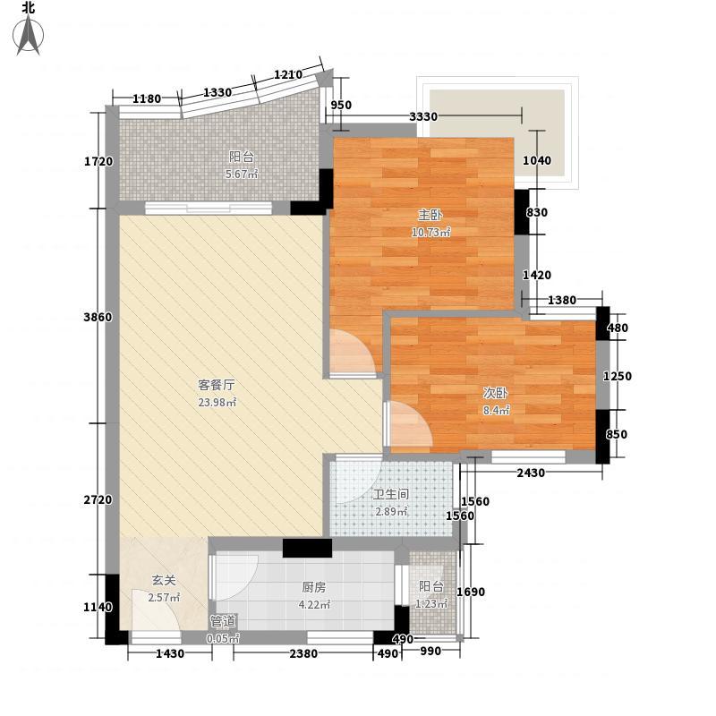 中南海晖园82.00㎡13座0户型3室2厅2卫