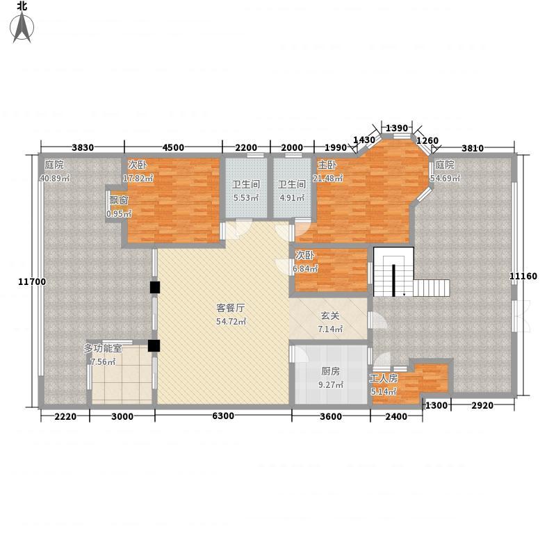 都匀一号14163.84㎡户型4室2厅2卫