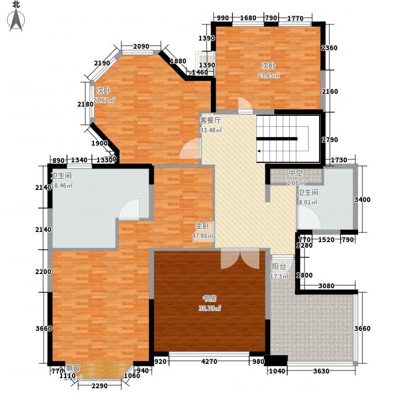 浦江公馆286.34㎡浦江公馆户型图复式户型5室2厅3卫户型5室2厅3卫