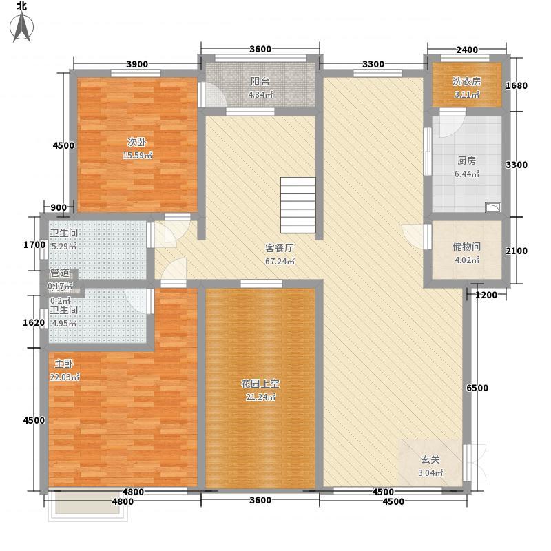 滨江壹号288.81㎡洋房5层效果图户型6室2厅4卫