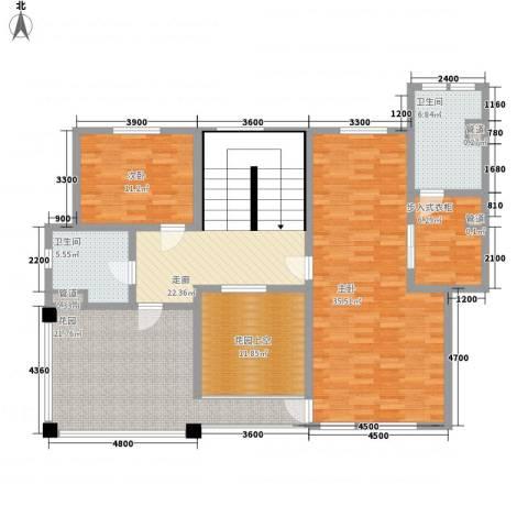 滨江壹号2室0厅2卫0厨289.00㎡户型图