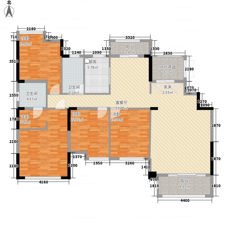 南方梅园2期山湖名都C户型4室2厅2卫1厨