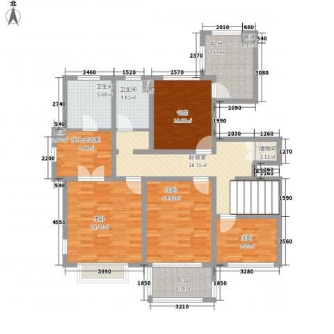 石湖华城4室0厅2卫0厨278.00㎡户型图