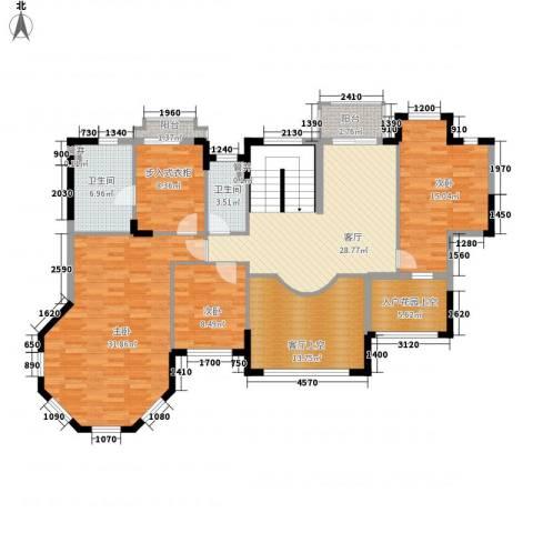 东海湾3室1厅2卫0厨348.00㎡户型图