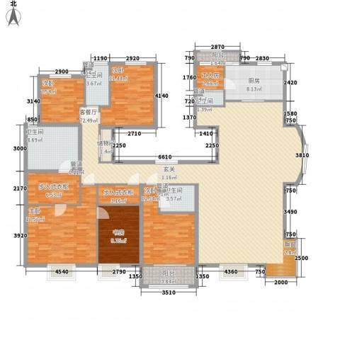 皇家壹里5室1厅4卫1厨247.00㎡户型图