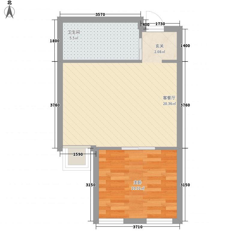 中天・文化空间B11/B12户型