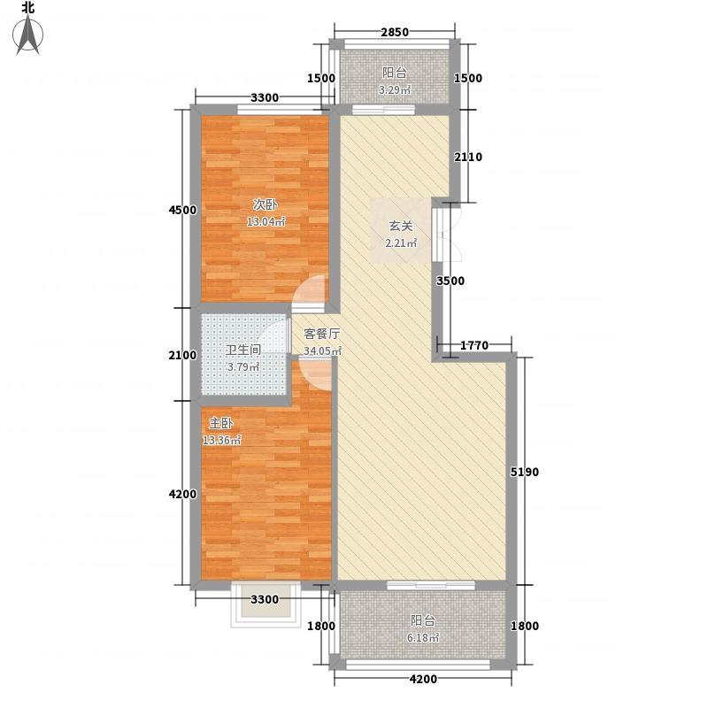 又一居户型2室