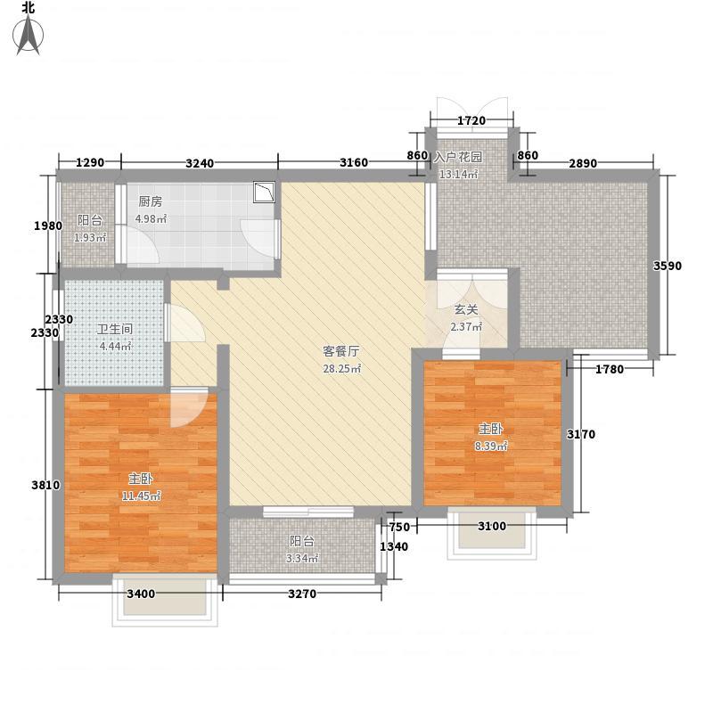 福巢居户型2室