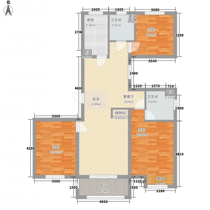 缘中园户型3室