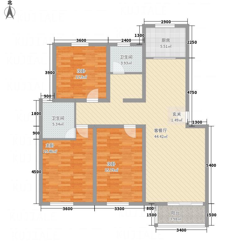 松林小区C3户型