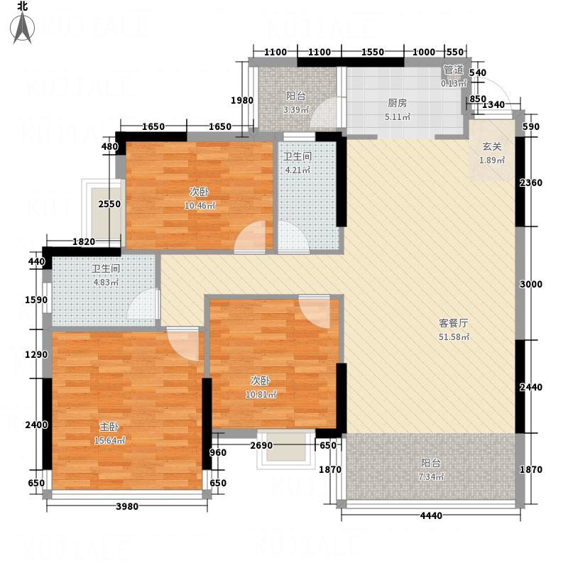 商业中心南区标准层06户型