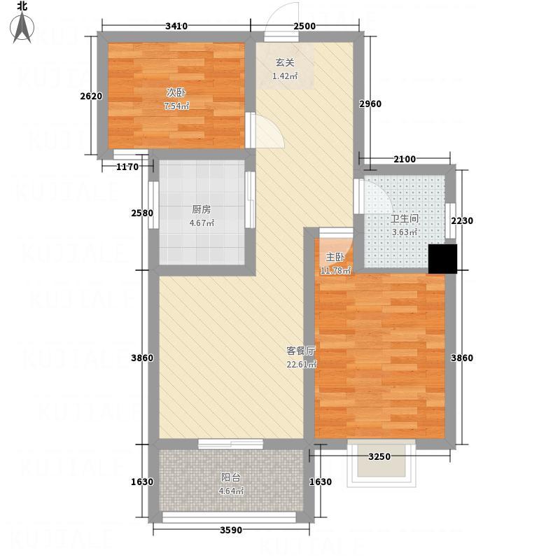 水沐楼台公寓E户型