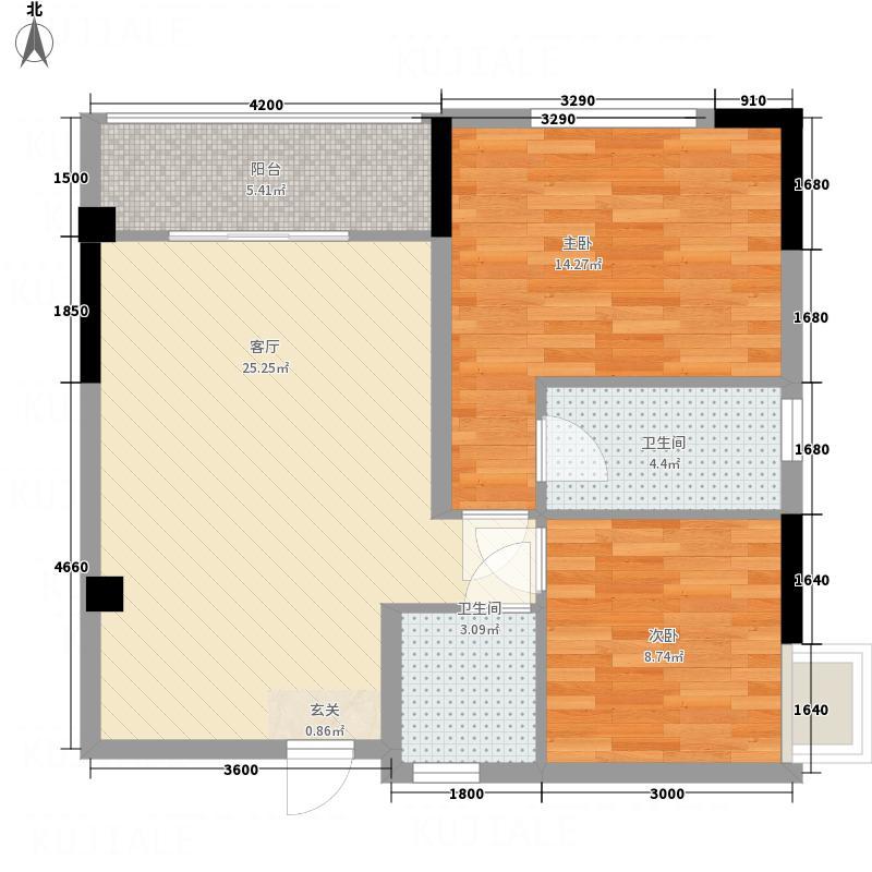 闸坡驿港度假公寓三层以上09户型