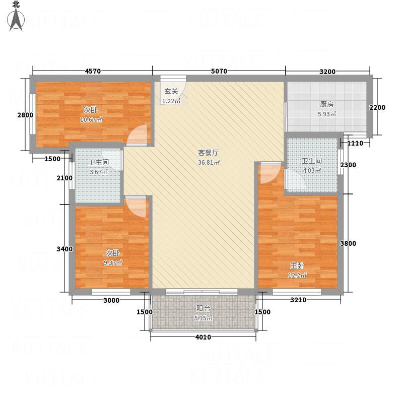 龙地佳苑2.20㎡2户型