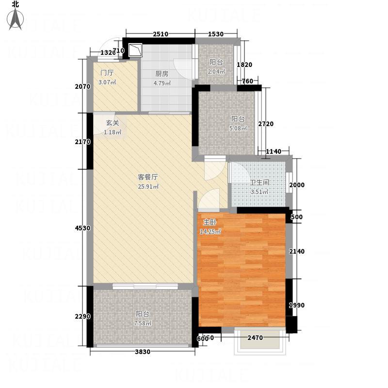 海盟・山水豪庭45栋M户型
