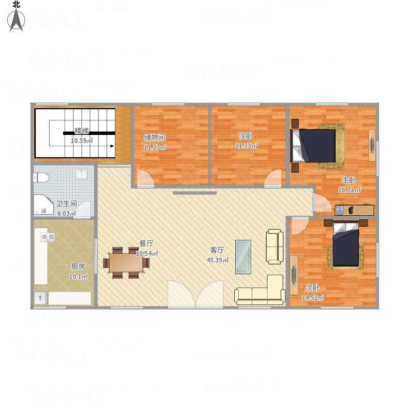 1楼平面方案2