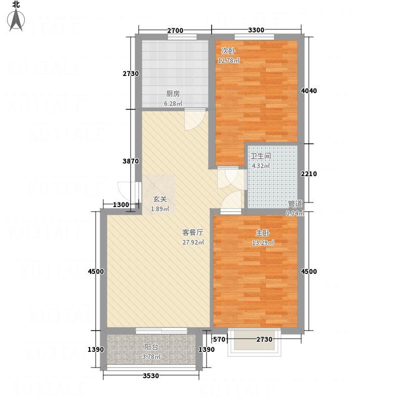 太扬家园155.00㎡户型2室