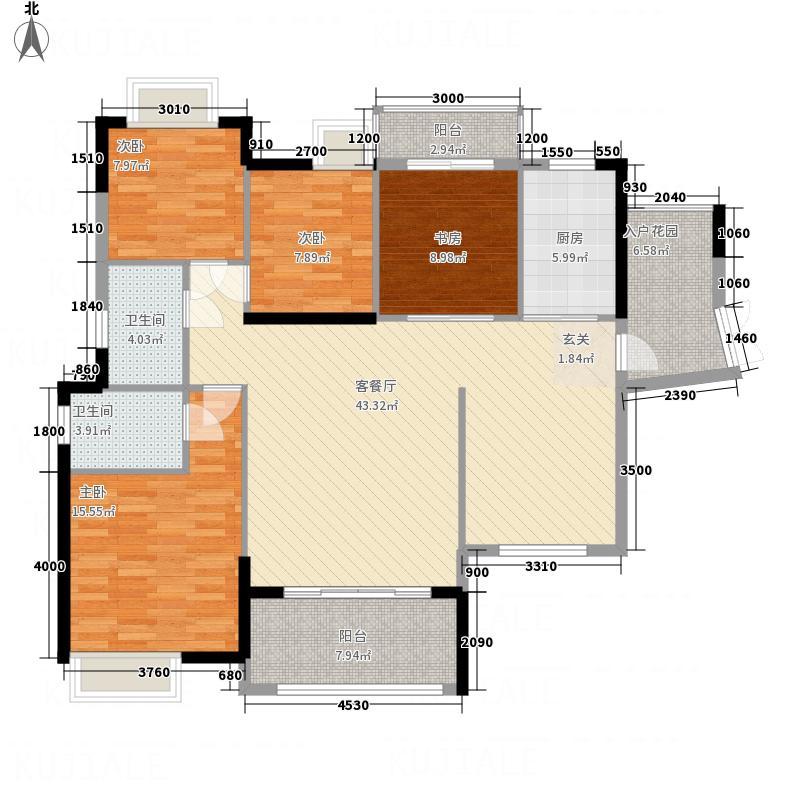 华达新城・融悦0户型4室2厅2卫