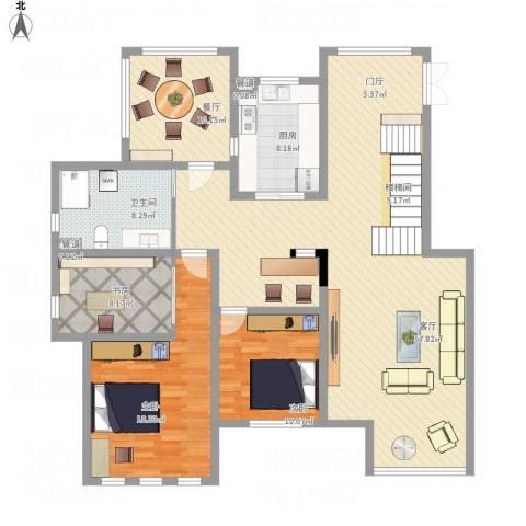 御龙仙语湾3室2厅3卫1厨137.03㎡户型图