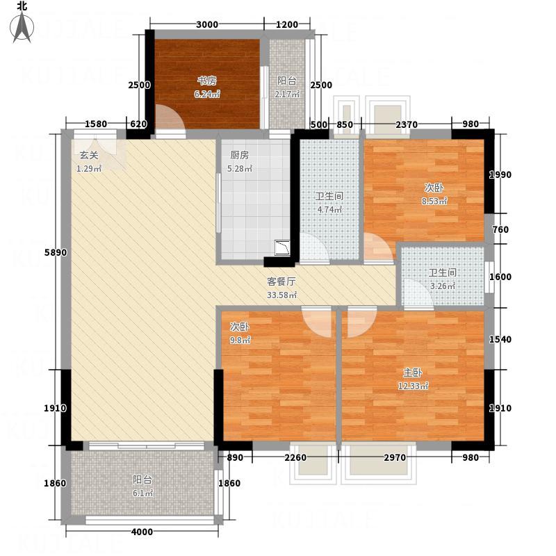 东方豪庭2.20㎡雅阁C栋2―25层02户型