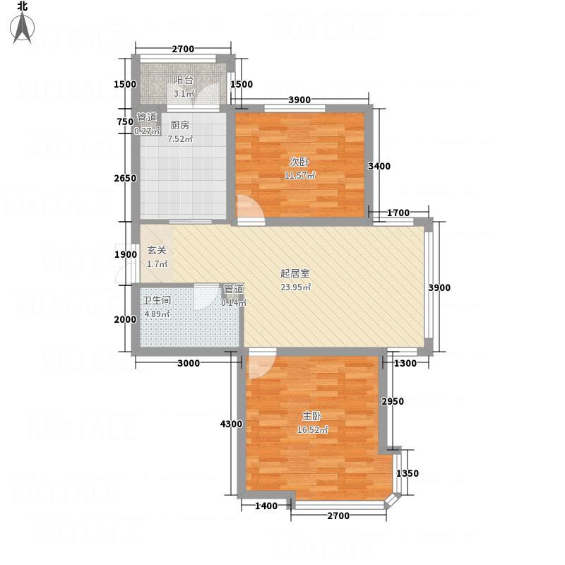 二环新村8.00㎡户型2室