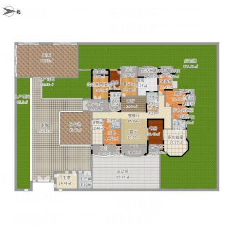 荣禾曲池东岸5室1厅5卫1厨1653.00㎡户型图
