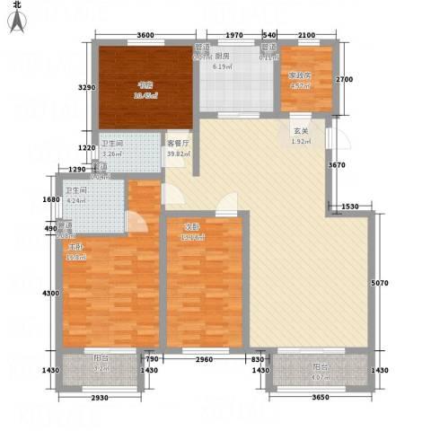 七里河・佳洲美地3室1厅2卫1厨106.03㎡户型图