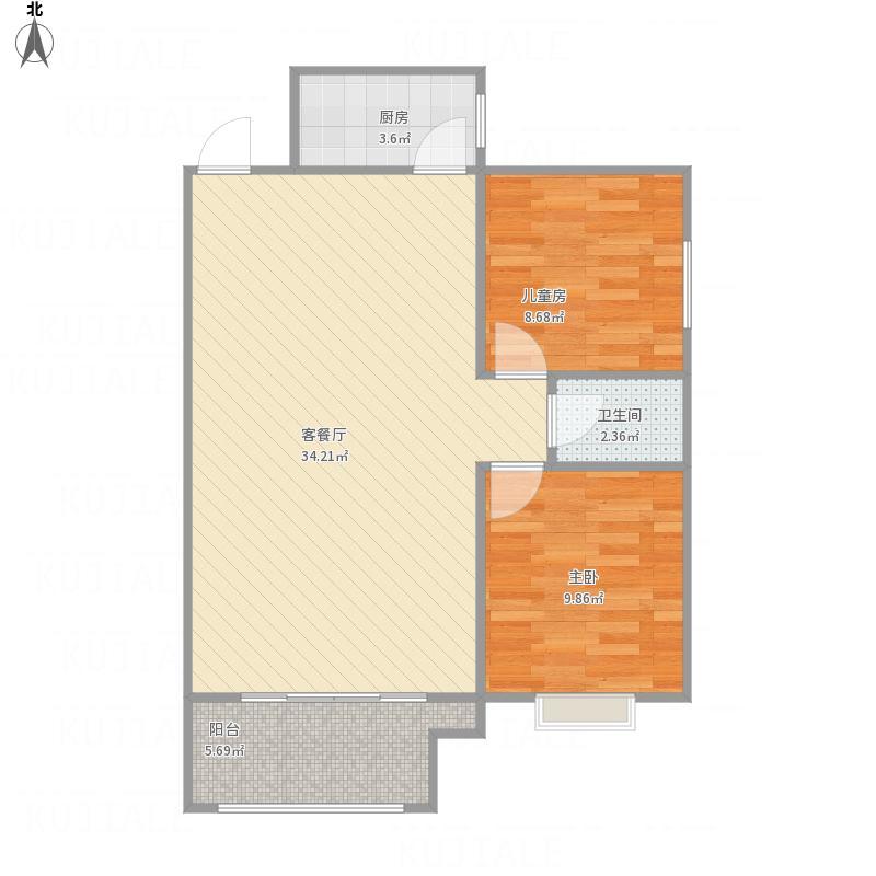 南北卧客厅朝阳