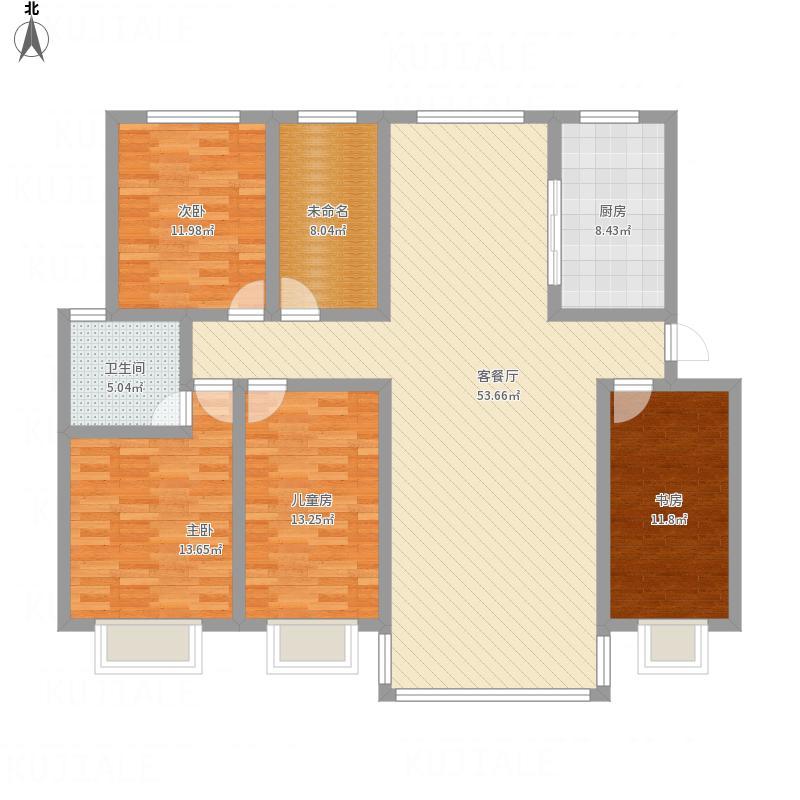 大河锦绣城三室两厅一厨两卫